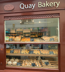 Quay Bakery artisan bakery shop window