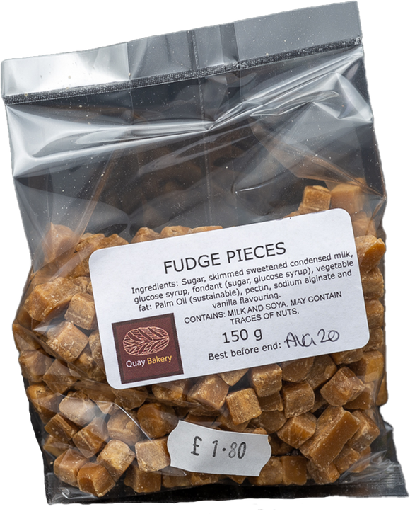 Fudge pieces