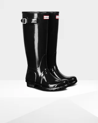 HUNTER TALL GLOSSY BOOT