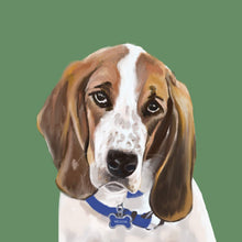 digitally painted pet portrait-Portraits-Keona Elise