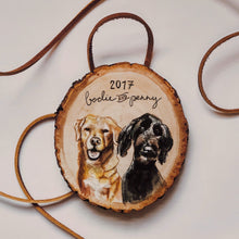 pet portrait ornaments-Ornament-Keona Elise