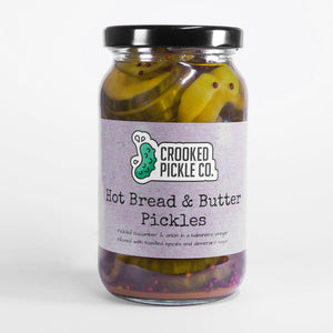 Hot bread and Butter pickles