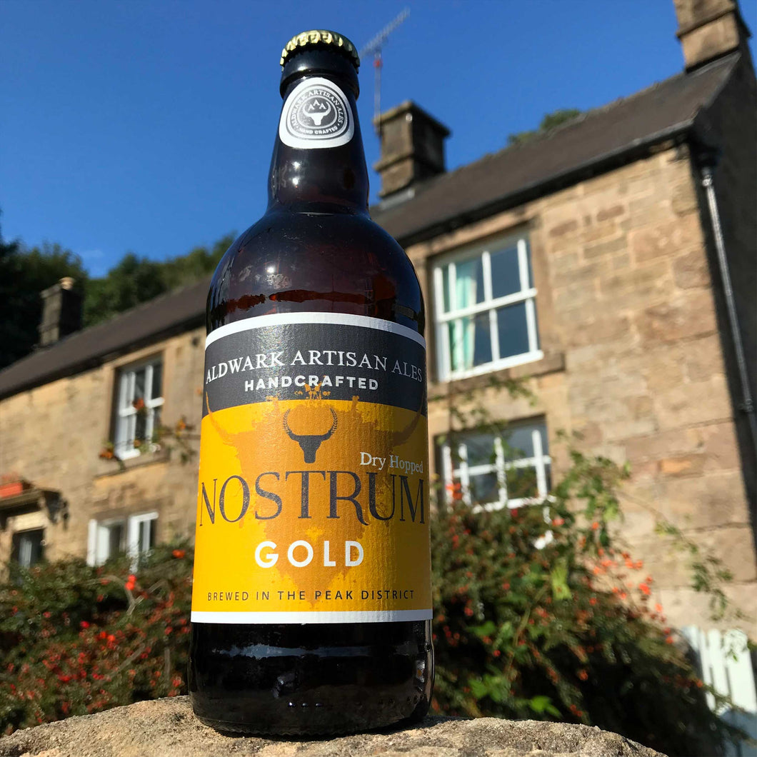 Nostrum Gold bottle