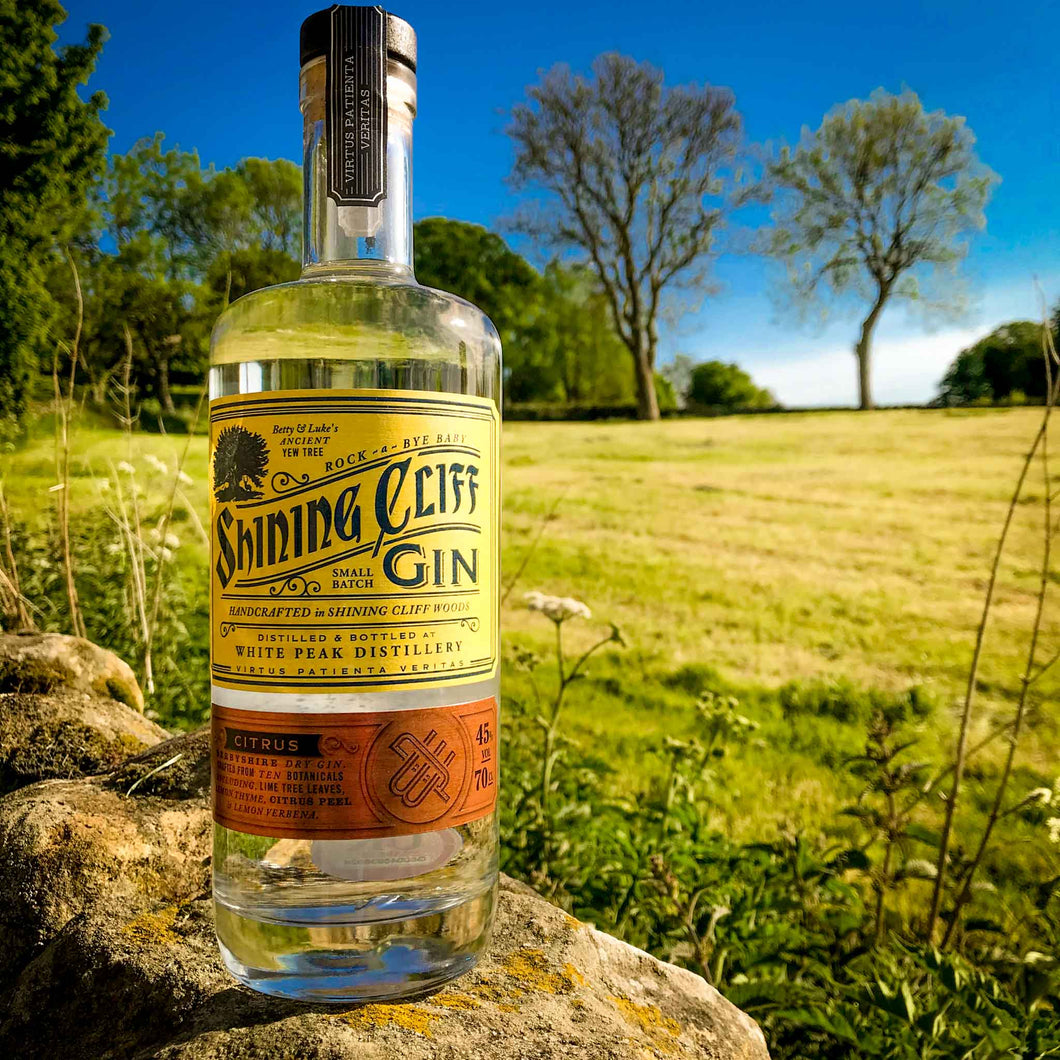 Shining Cliff Citrus Gin - 70cl
