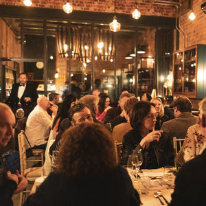 White Peak Distillery pop-up supper club for Burns Night