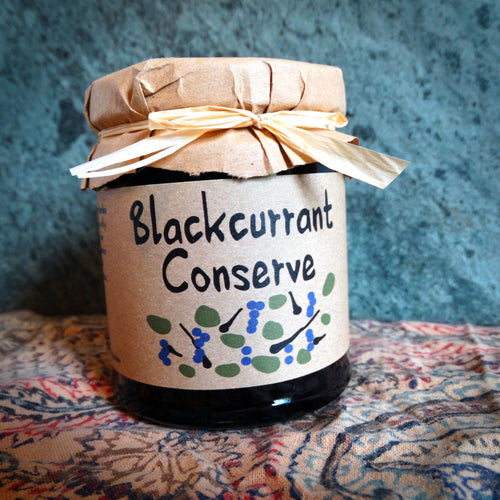 Blackcurrant Conserve - 215g - Peak District Deli