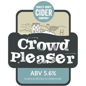 Darley Abbey Cider - Crowd Pleaser 30 Litre (52 pint) KeyKeg - Peak District Deli