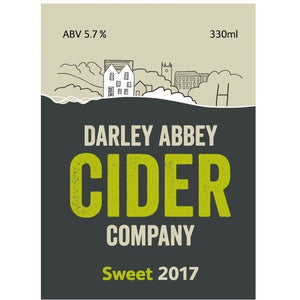 Darley Abbey Cider - Sweet Cider - 330ml bottles - Peak District Deli