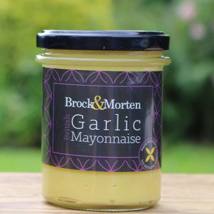 Handmade Garlic Mayonnaise - 190g Jar - Peak District Deli