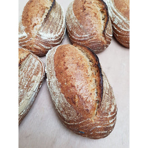 Malted Wheat Leaven Bread - Peak District Deli