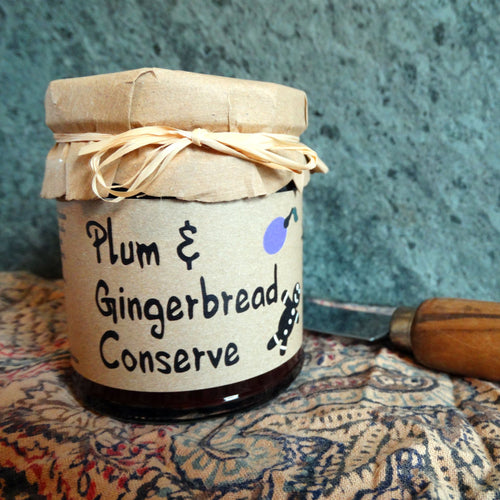 Plum & Gingerbread Conserve - 215g - Peak District Deli