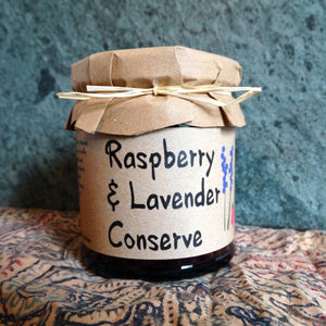 Raspberry & Lavender Conserve - 215g - Peak District Deli