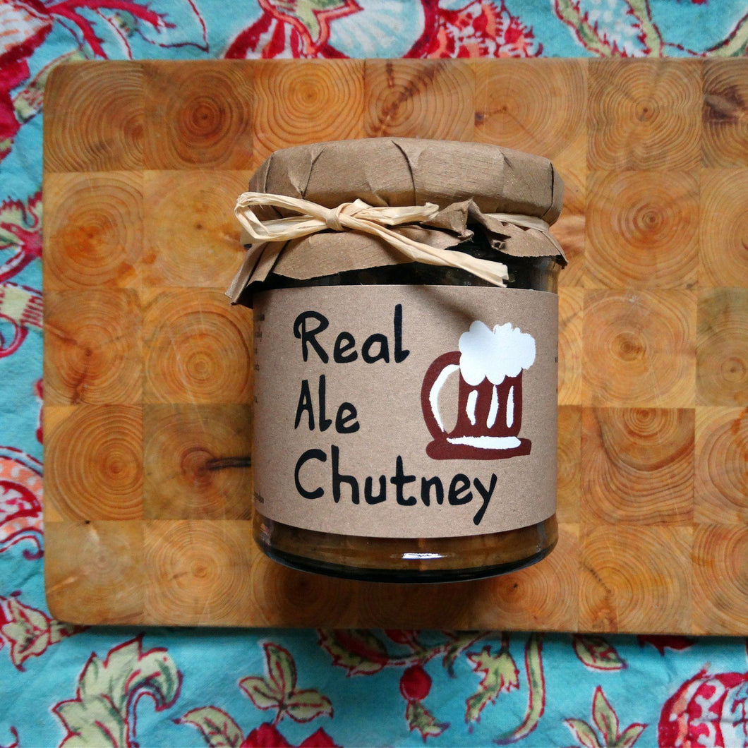 Real Ale Chutney - 215g - Peak District Deli