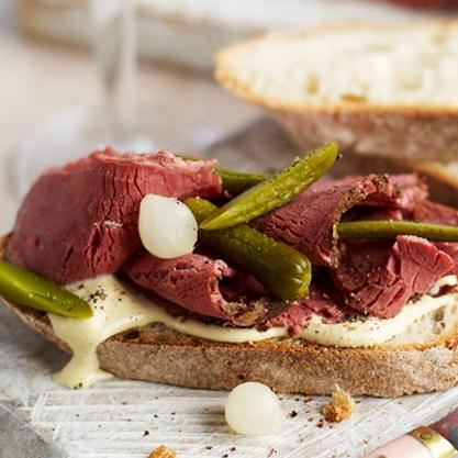 Salt Beef - Peak District Deli
