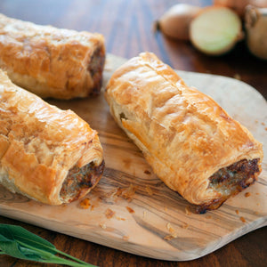 Sausage Rolls - Large x 6 - Peak District Deli