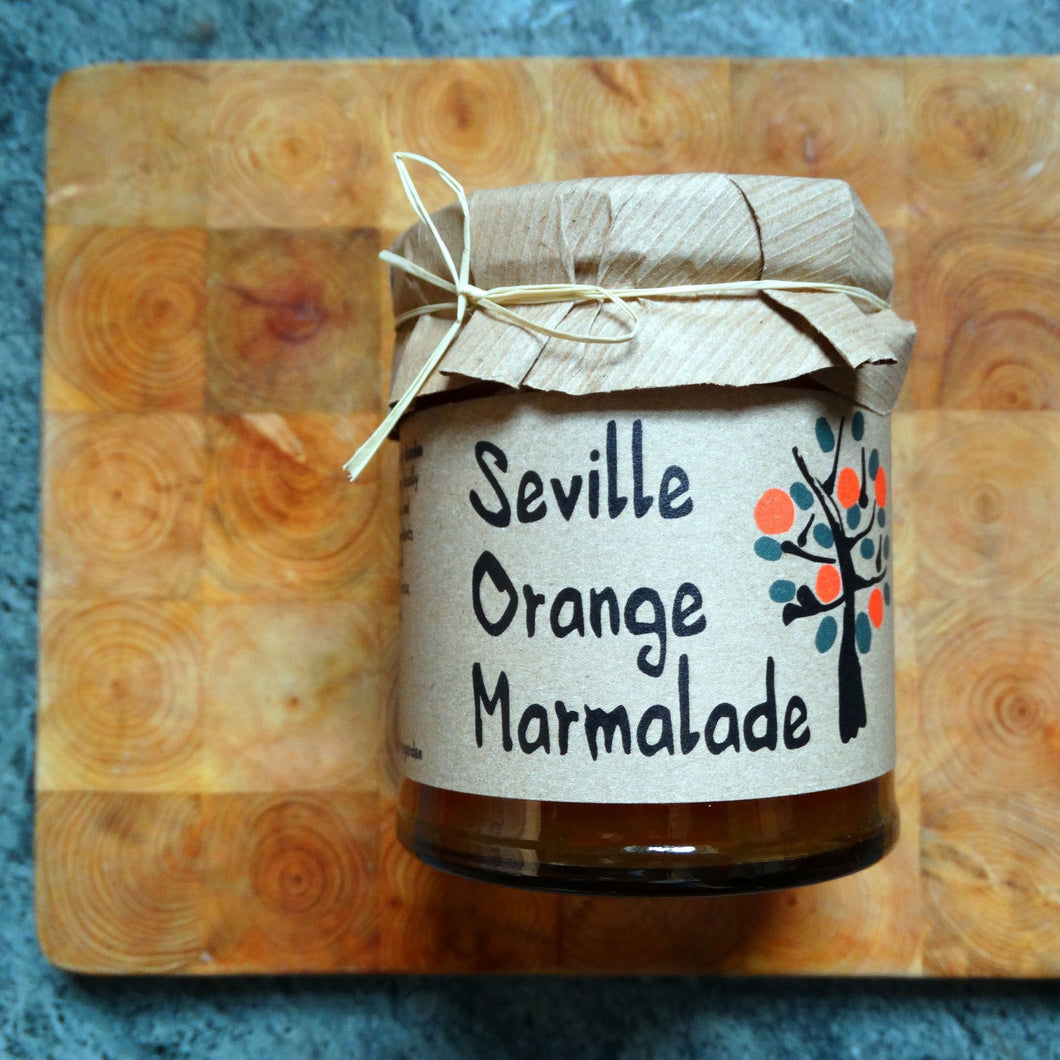 Seville Orange Marmalade - 215g - Peak District Deli