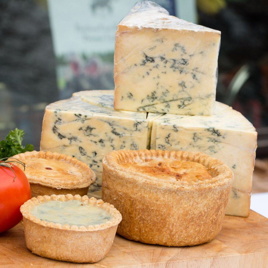 Stilton Pork Pies - small (x3) - Peak District Deli