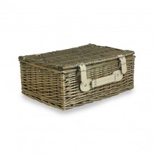 antique wash willow hamper