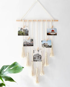 Macrame Wall Hanging for Photos