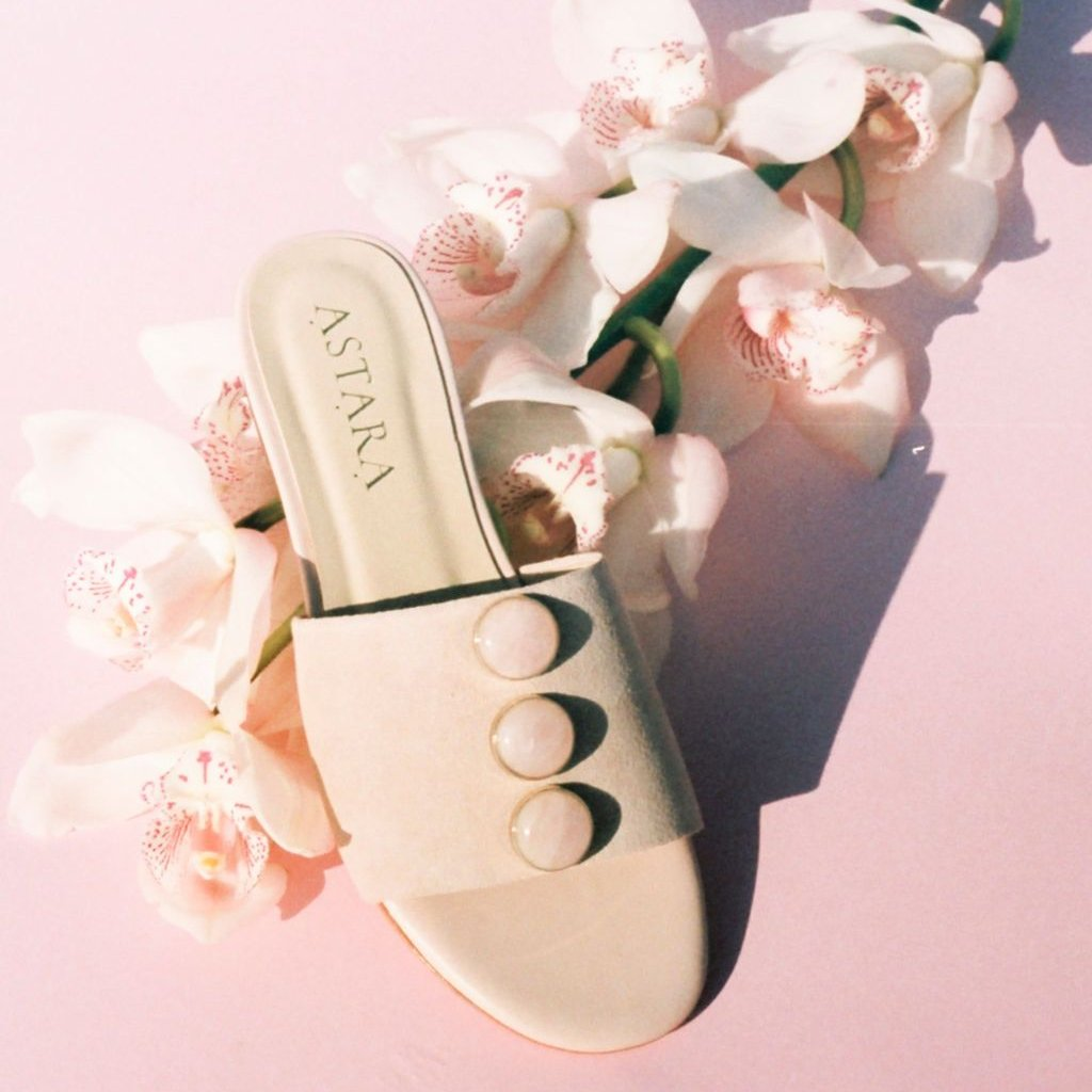 SAHARA Rose Quartz Sandal