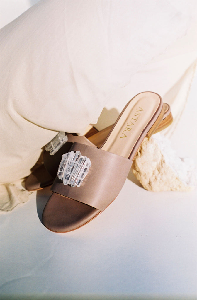 SAHARA Clear Quartz Sandal **PRE-ORDER** EXCLUSIVE