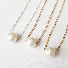 Simple Freshwater Pearl Necklace