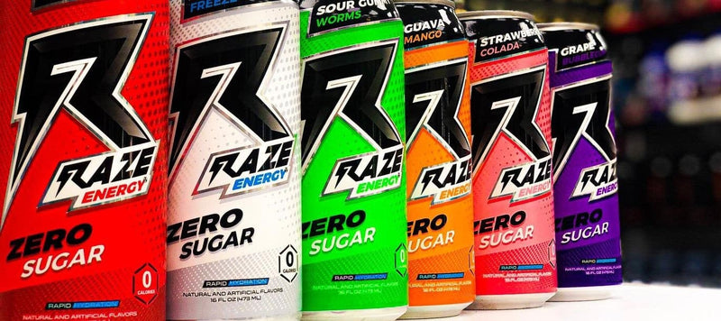 Raze Energy Is Back In Stock
