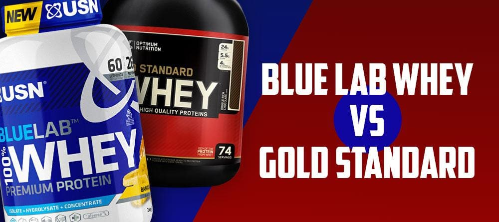 USN Blue Lab Whey vs Gold Standard