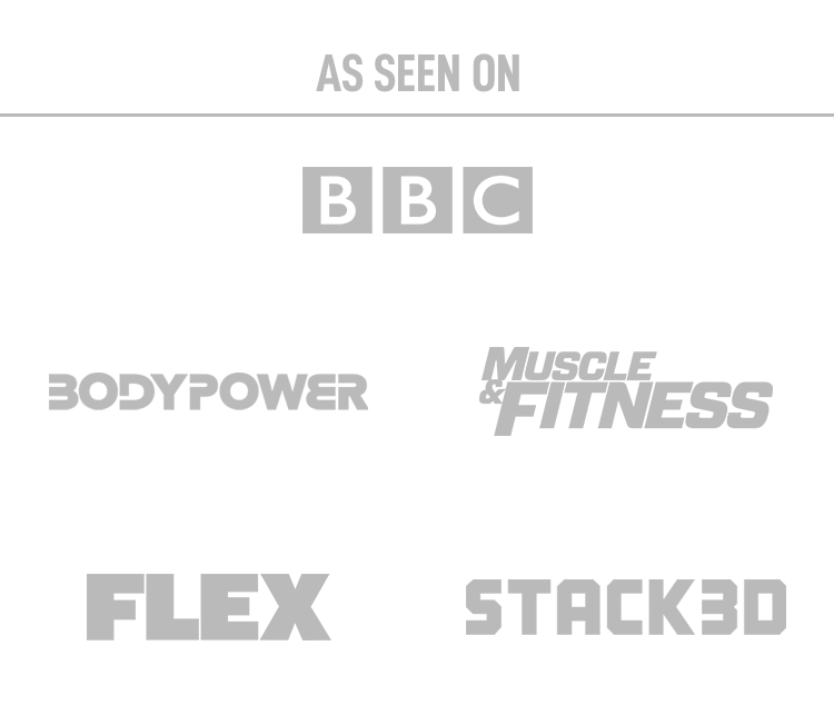 T-Nutrition, as seen on BBC, Body Power, Muscle & Fitness, Flex and Stack3d