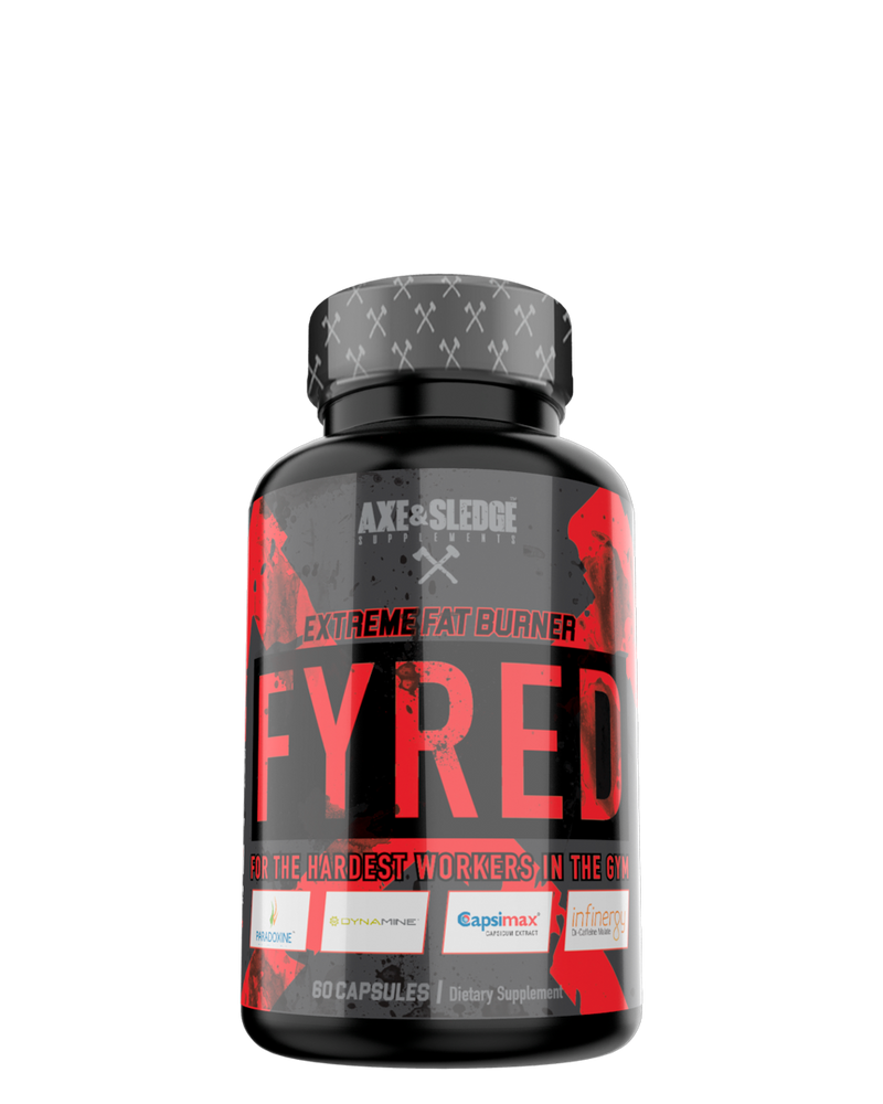 Axe & Sledge Fyred - Extreme Fat Burner