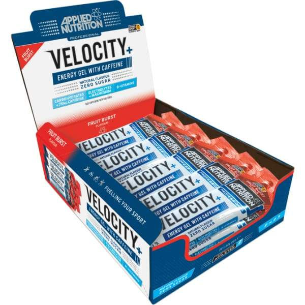 Applied Nutrition Velocity Isotonic Energy Gel with Caffeine UK