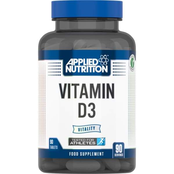 Applied Nutrition Applied Nutrition Vitamin D3 (90 Tabs)