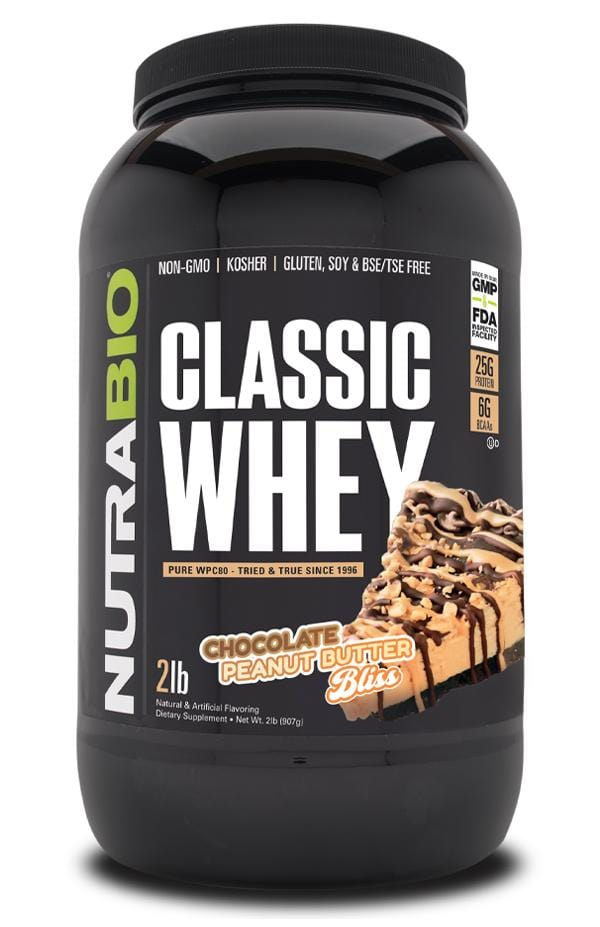 Nutrabio Classic Whey Chocolate Peanut Butter Bliss