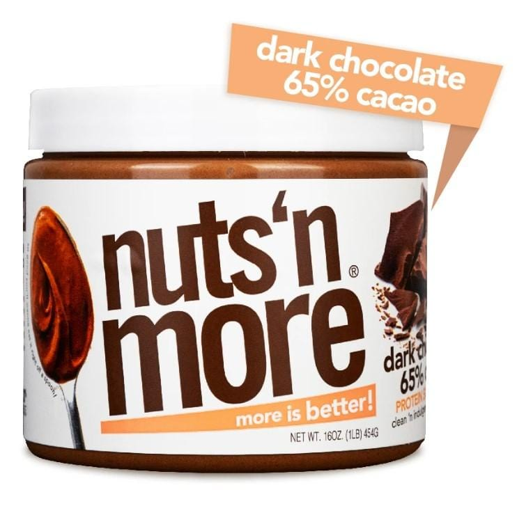 Nuts 'N More Peanut Butter Dark Chocolate (454g)