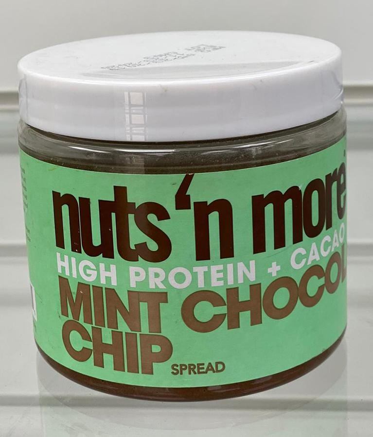 Nuts 'N More Peanut Butter Mint Chocolate Chip (454g)
