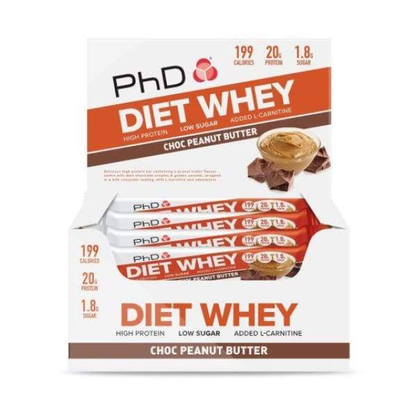 PhD Diet Whey Bars UK