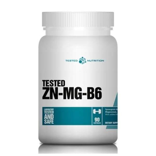 Tested Nutrition Tested Zn-Mg-B6 UK