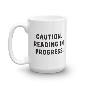 Reading in Progress Mug