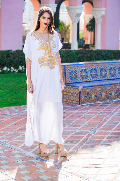 Bridal White Kaftan