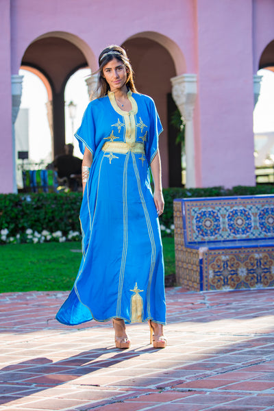 Women's Blue Kaftan