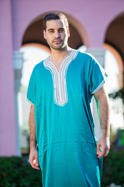 Men's Teal Kaftan