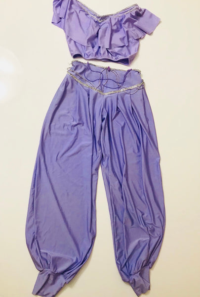 Teen Two-Piece Lilac Henna Pant-Set
