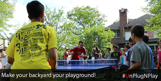 Experience the games in your backyard!
