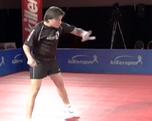 How To Backhand Counter Loop