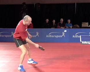 Forehand Chopping