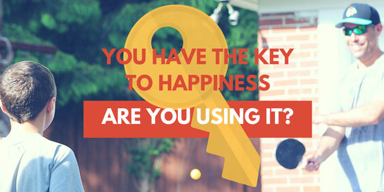 You Have the Key to Happiness. Are You Using It?