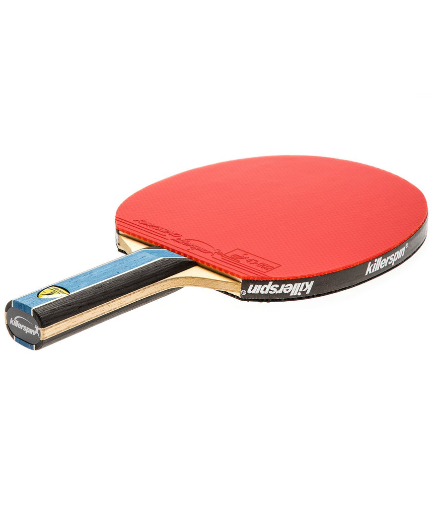 Killerspin Ping Pong Paddle Kido 5A RTG Premium - Straight Red Fortissimo Rubber