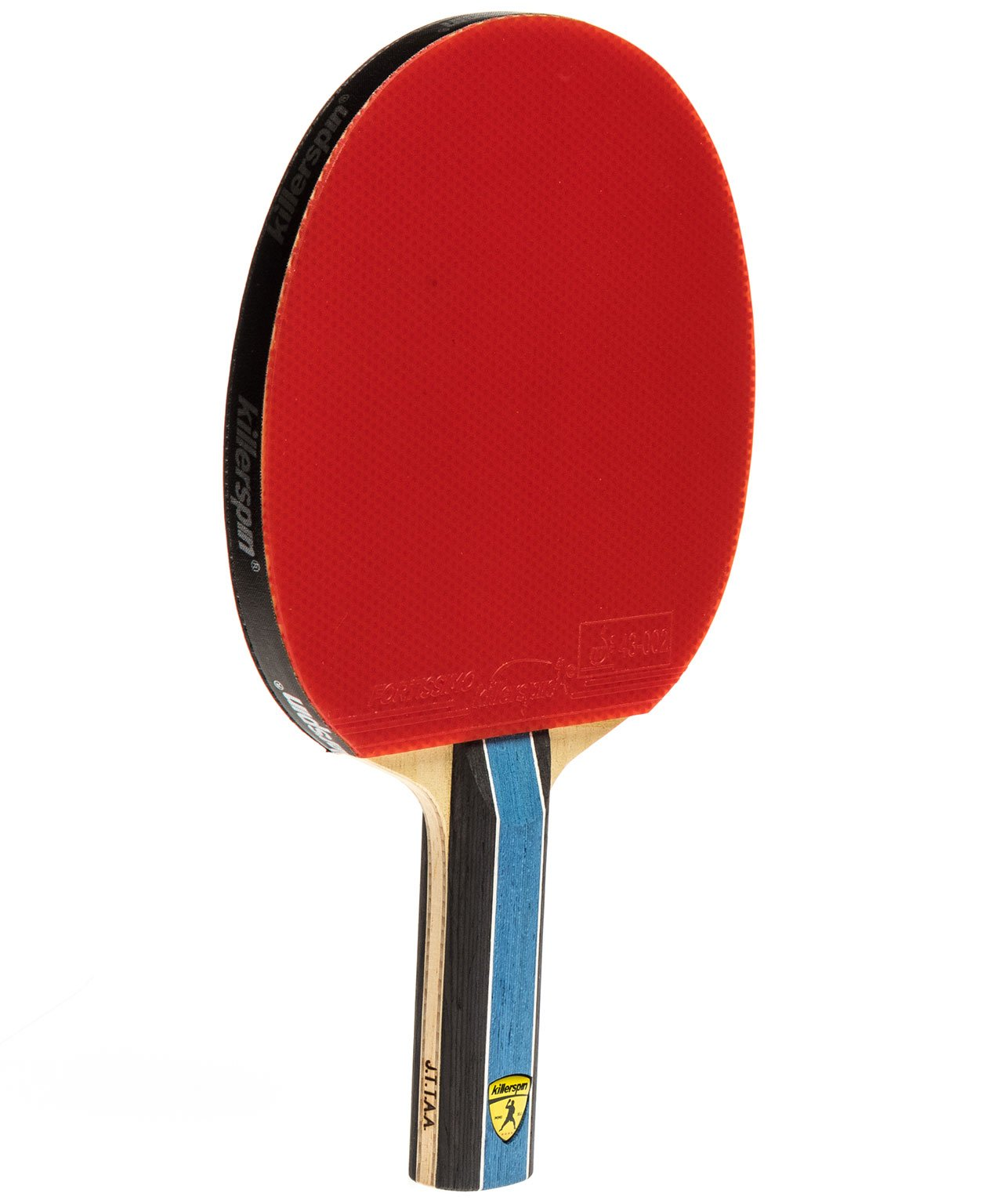 Killerspin Ping Pong Paddle Kido 5A RTG Premium - Straight Red Rubber