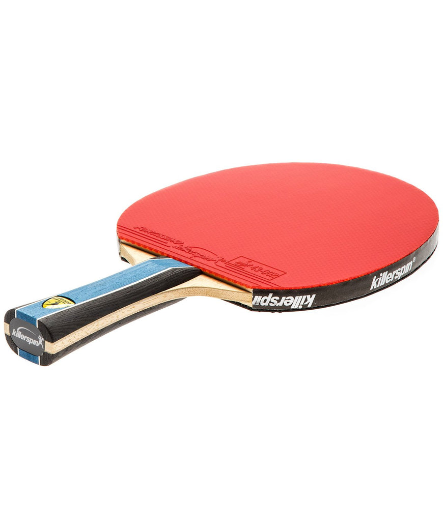 Killerspin Ping Pong Paddle Kido 5A RTG Premium - Flared Red Rubber