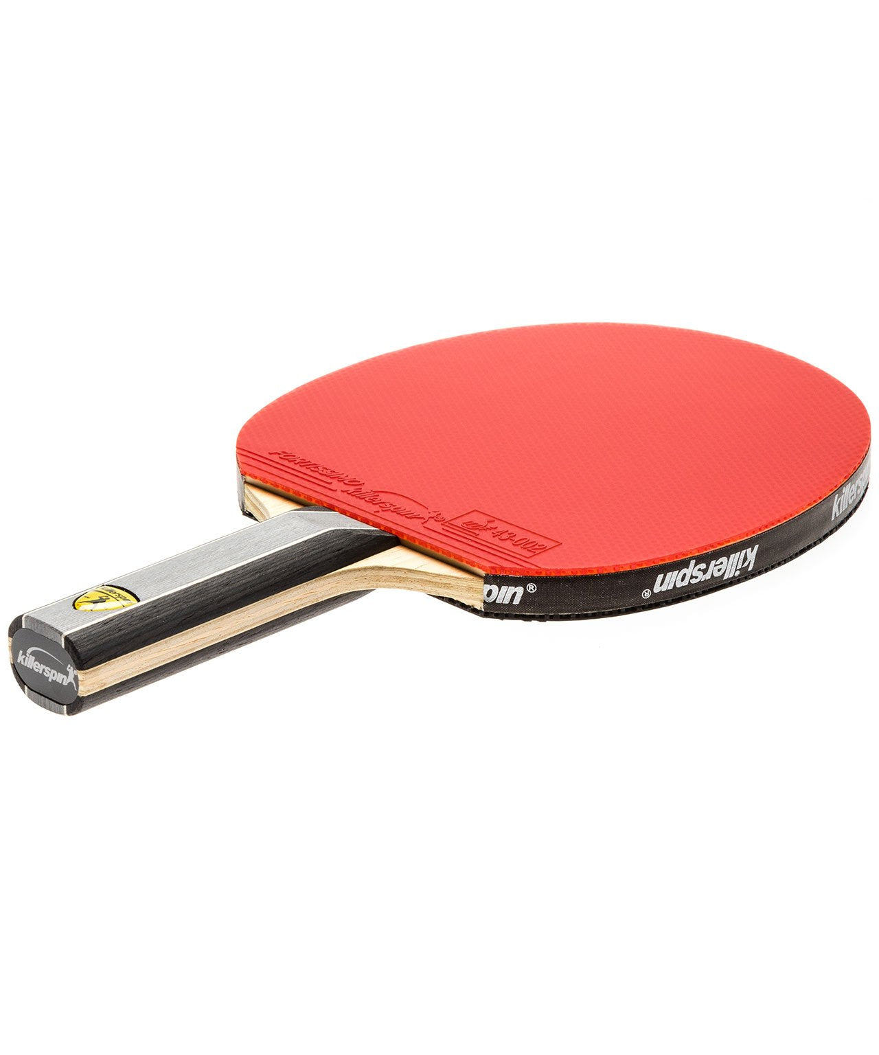 Killerspin Ping Pong Paddle Kido 7P RTG Premium - Straight Red Fortissimo Rubber